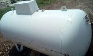 LPG tank installation at University of Embu